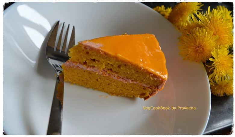 Mango & Semolina Cake (Egg free)