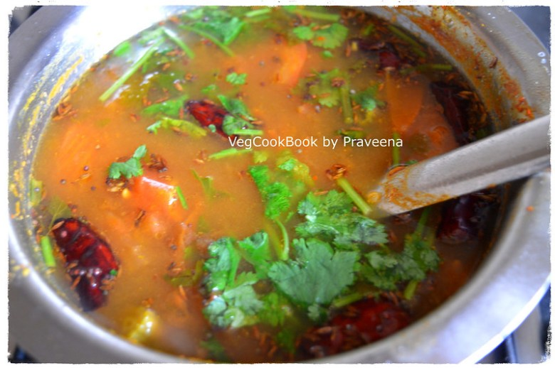 Easy, Quick, Few Ingredients recipe for Instant Soup / South Indian Andhra style Chaaru made within 10 mins.