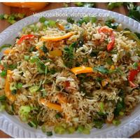 Tri-Capsicum Chinese Fried Rice