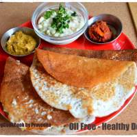 Oil Free - Healthy Dosa / Without Oil Dosa