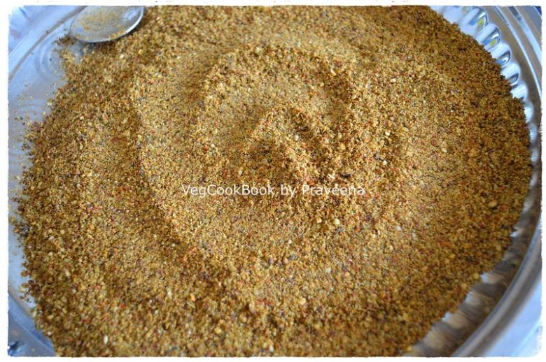 moringa leaves spice powder / munagaku podi
