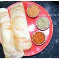 Two Ingredient Dosa / Crepe (Vegan, GF)