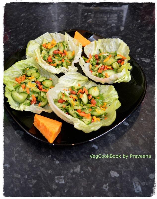 cucumber peanut salad