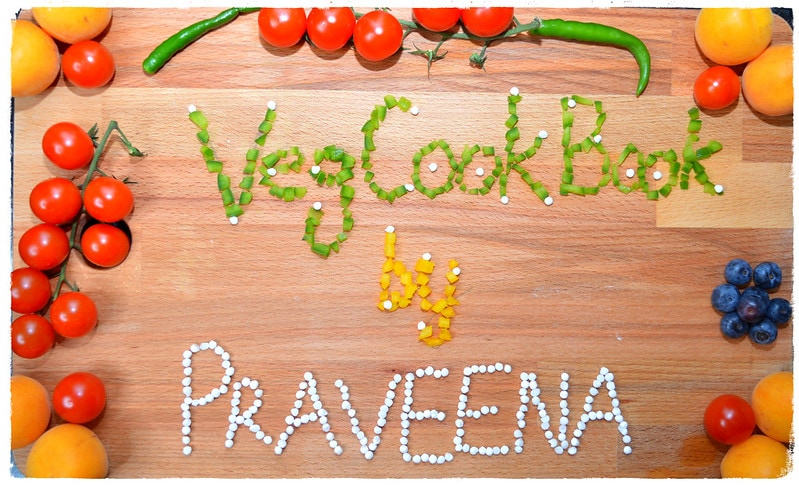 VegCookBook by Praveena