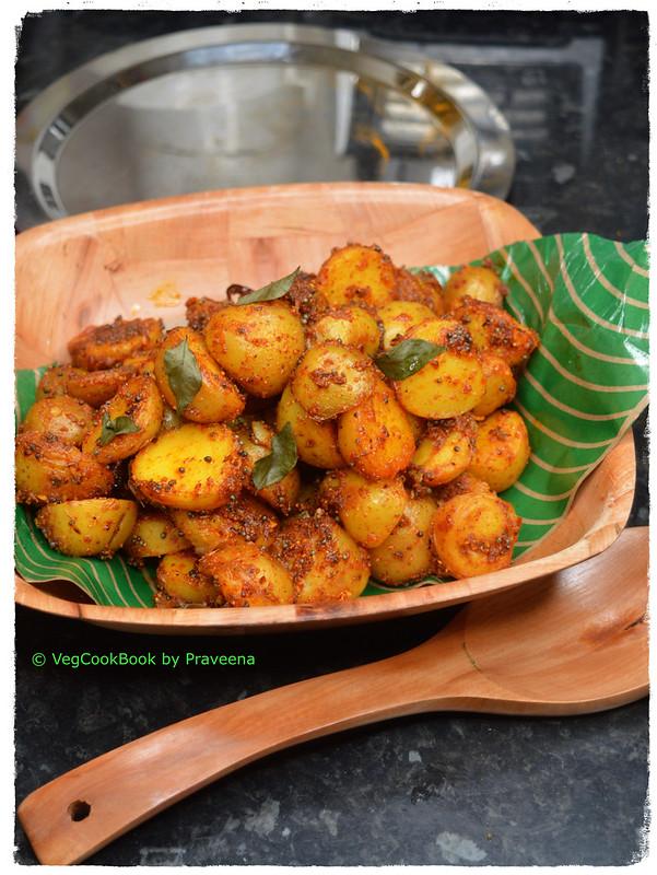 Spicy Baby Potato Roast (instant pot / stove top)