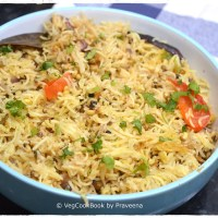 Green Moong Beans (Sprouts) Pulao (Instant Pot / Stove top)