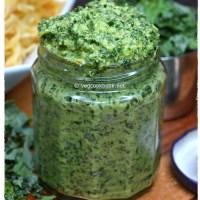 Kale & Walnut Pesto Sauce (Dairy Free)