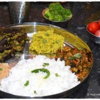 Bhojanam / Thali / Platter # 18