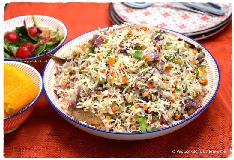 Easy Vegan Indian Fried Rice
