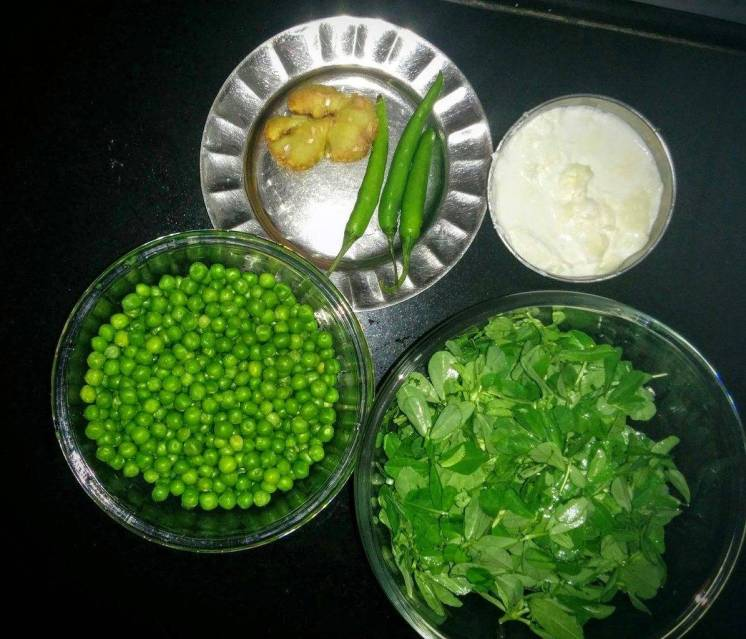 Methi Matar Malai Recipe Instructions