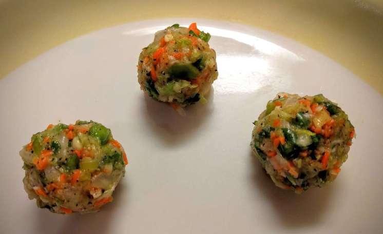 Dry Veg Manchurian Recipe Instructions
