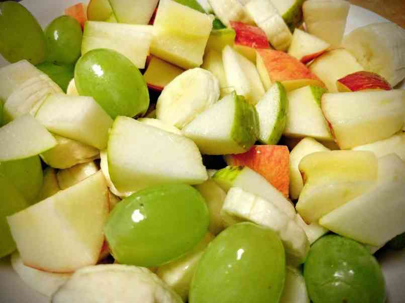 Fruit Chaat Recipe Instructions