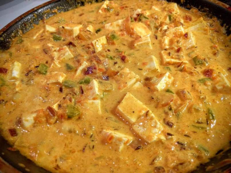Paneer Capsicum Masala Recipe Step By Step Instructions 11