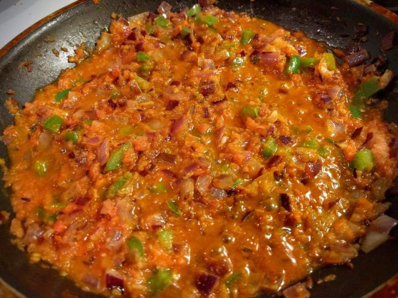 Paneer Capsicum Masala Recipe Step By Step Instructions 7