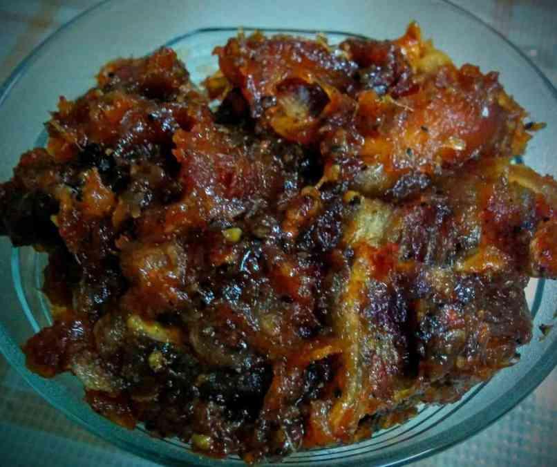 Dates Pickle | Khajur Ka Achar Recipe