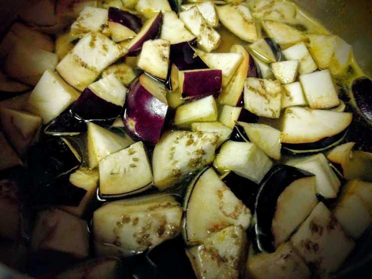Brinjal Sambar Recipe Step By Step Instructions 2
