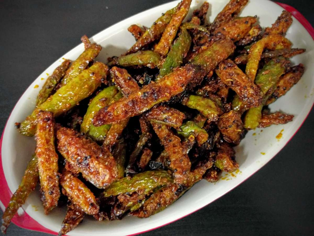 Tindora Fry Recipe (Fried Tendli / Ivy Gourd)