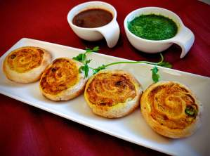 Samosa Pinwheels Recipe Step By Step Instructions