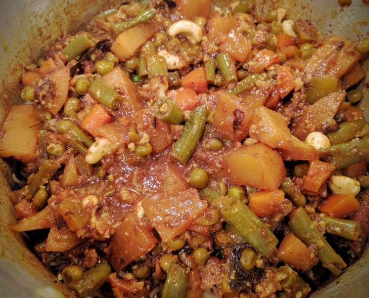 Veg Biryani Recipe Step By Step Instructions 21