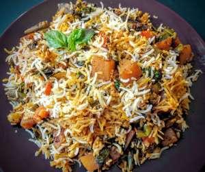 Veg Biryani Recipe Step By Step Instructions