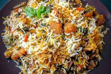 Veg Biryani Recipe Step By Step Instructions
