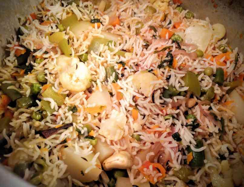 Veg Pulao Recipe Step By Step Instructions 14