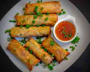Veg Spring Rolls Recipe Step By Step Instructions