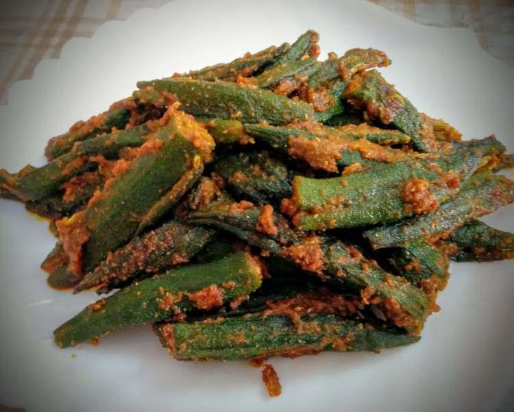 Bharwa Bhindi Recipe Step By Step Instructions