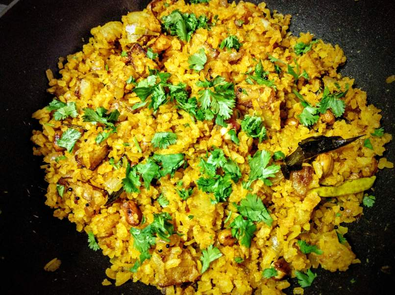 Kanda Batata Poha Recipe Step By Step Instructions 15