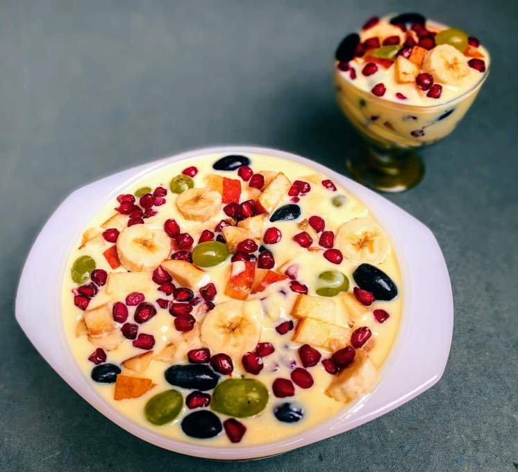 Fruit Custard Recipe Step By Step Instructions 12