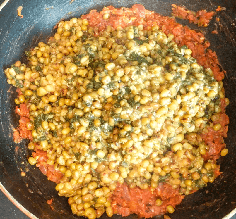 Dal Palak Recipe Step By Step Instructions 14