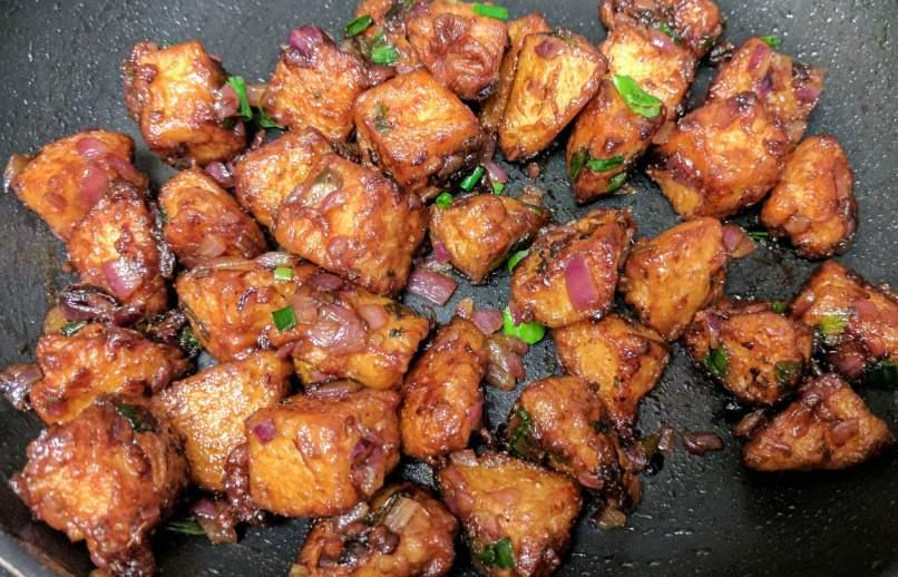 Idli Manchurian Recipe Step By Step Instructions 13