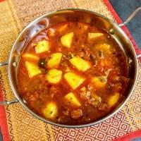 Aloo Tamatar Ki Sabzi Recipe | Potato & Tomato Curry