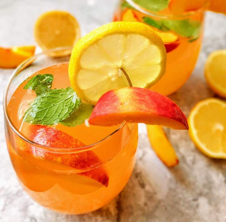 Peach Lemonade Recipe Step By Step Instructions 9