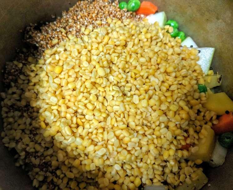 Dalia Khichdi Recipe Step By Step Instructions 8