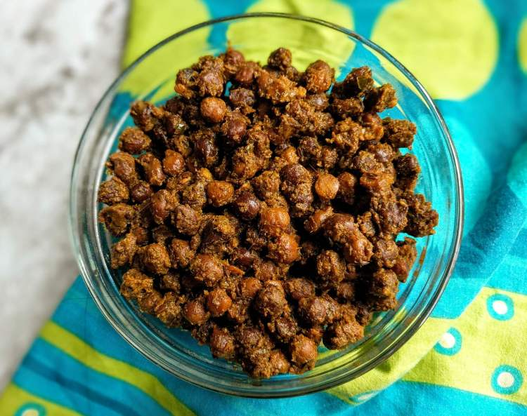 Sookhe Kale Chane Recipe Step By Step Instructions