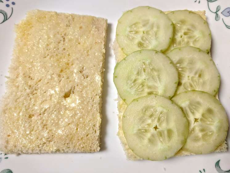 Tomato Cucumber Sandwich Recipe Step By Step Instructions 2