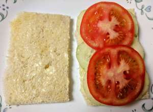 Tomato Cucumber Sandwich Recipe Step By Step Instructions 3