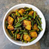 Aloo Beans Recipe | Potato & French Beans