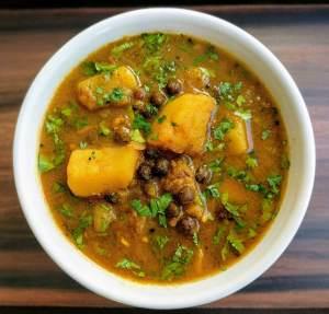 Aloo Choliya Recipe Step By Step Instructions