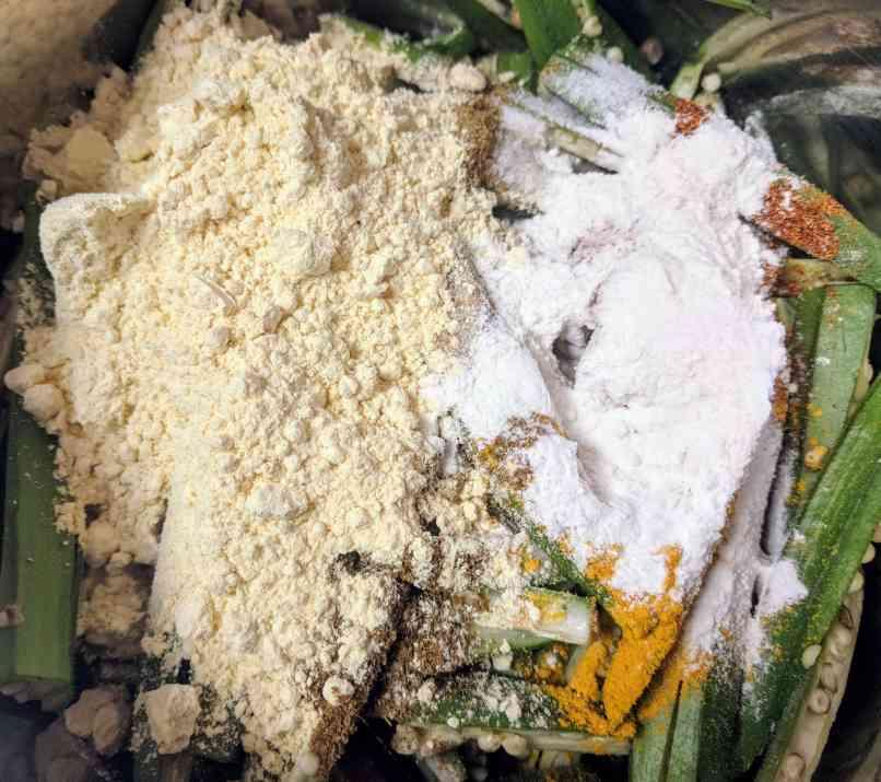 Kurkuri Bhindi Recipe Step By Step Instructions 3