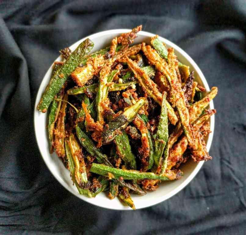Kurkuri Bhindi Recipe Step By Step Instructions