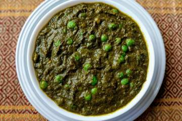 Palak Matar Recipe Step By Step Instructions