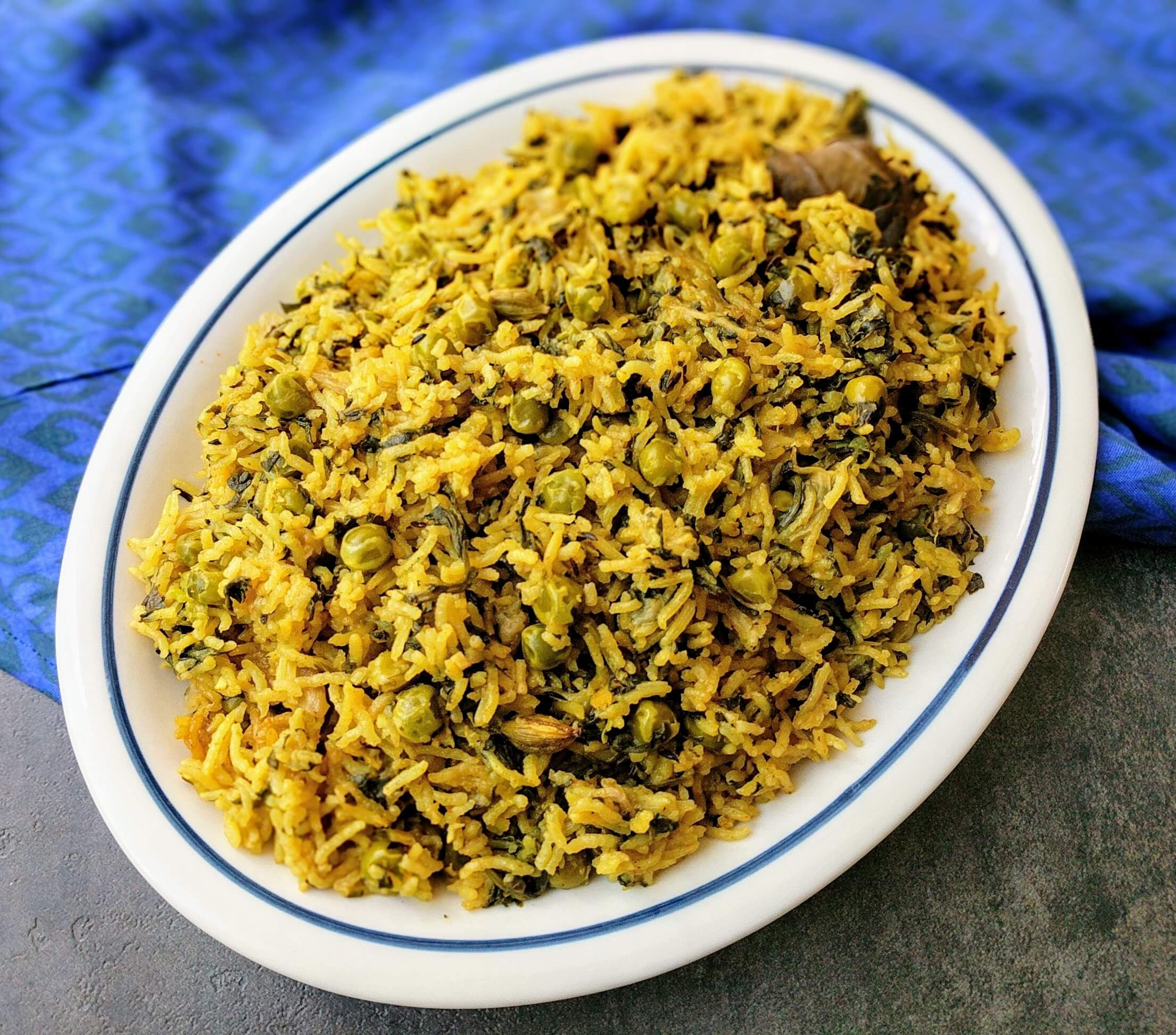 Palak Pulao Recipe Step By Step Instructions 10