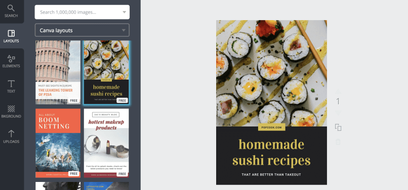 How to Use Canva for Pinterest 2