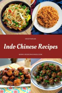 Indo Chinese Recipes | Veg Indian Chinese Dishes