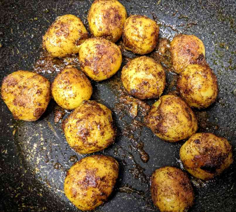 Dum Aloo Recipe Step By Step Instructions 7