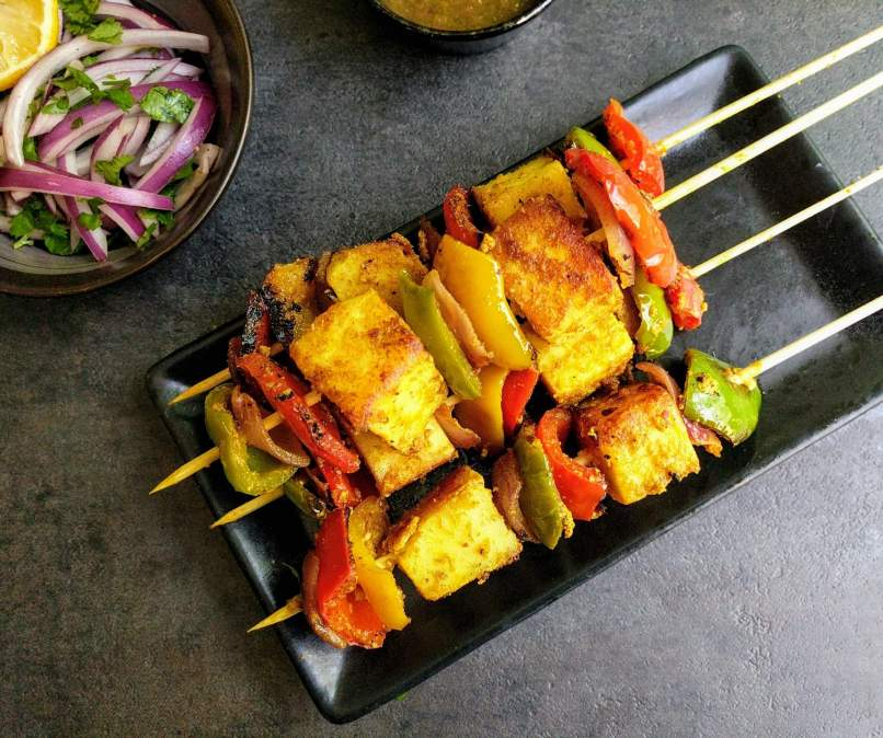 Paneer Tikka Recipe Step By Step Instructions
