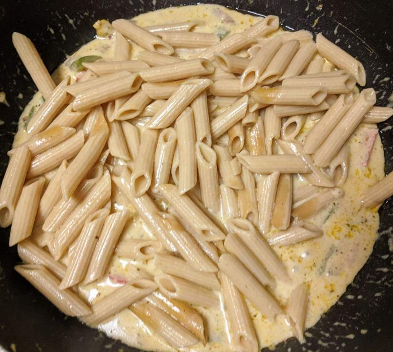 White Pasta Sauce Recipe Step By Step Instructions 9