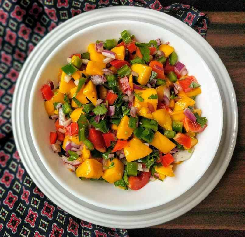 Mango Salsa Recipe Step By Step Instructions
